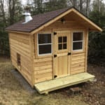 Why We Love The Simple Outdoor Barrel Sauna 10
