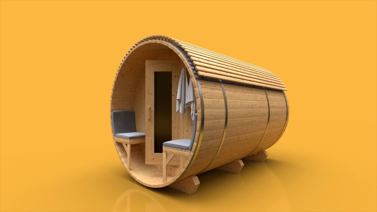 The Outdoor Barrel Sauna Is Smarter Than You Think