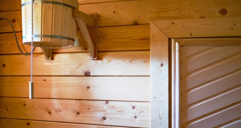 Heating Water with a Wood Burning Sauna
