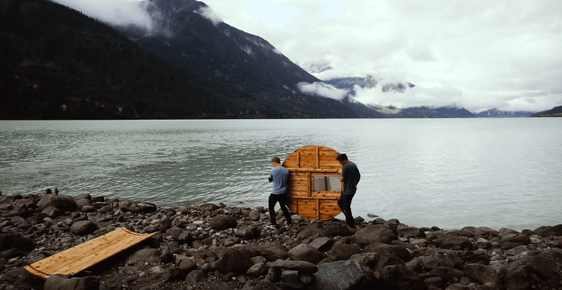 How to Build a DIY Barrel Sauna From Scratch