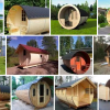 Barrel Saunas, or Tynnyrisauna in Finland