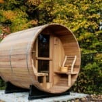 Why We Love The Simple Outdoor Barrel Sauna 8