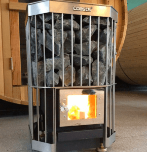 Coasts best value wood burning sauna heater